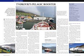 Tvøroyri's Pelagic Booster pp 60-61