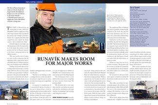 Runavík Makes Room for Major Works pp 62-63
