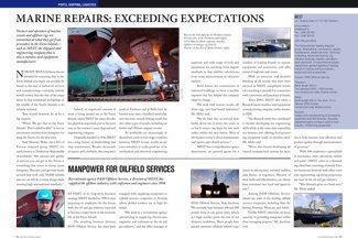 Marine Repairs: Exceeding Expectations pp 64-65