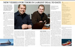 New Vessels for Thor in Largest Deal to Date pp 76-77