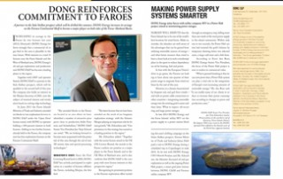 DONG Reinforces Commitment to Faroes pp 78-79