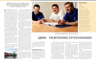 QHSE: Tightening Up Standards pp 84-85