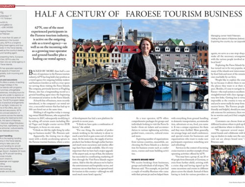 Half a Century of Faroese Tourism Business
