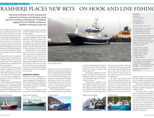Framherji Places New Bets on Hook and Line Fishing