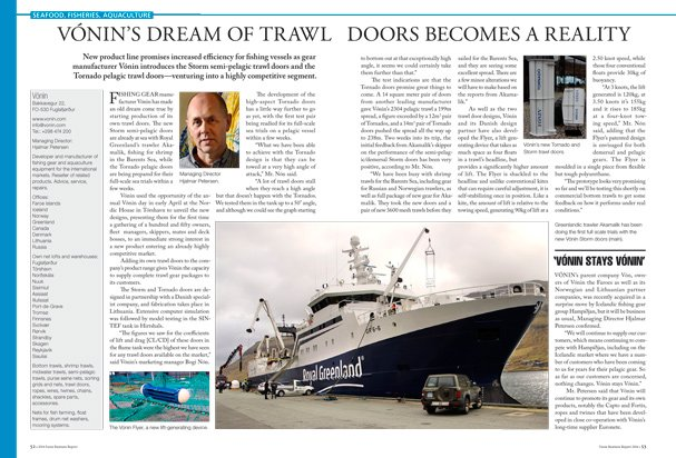 FBR16_LORES_5253  sc 1 st  Faroe Business Report & Vónin\u0027s Dream of Trawl Doors Becomes a Reality \u2013 Faroe Business Report