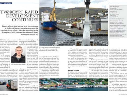 Tvøroyri: Rapid Development Continues