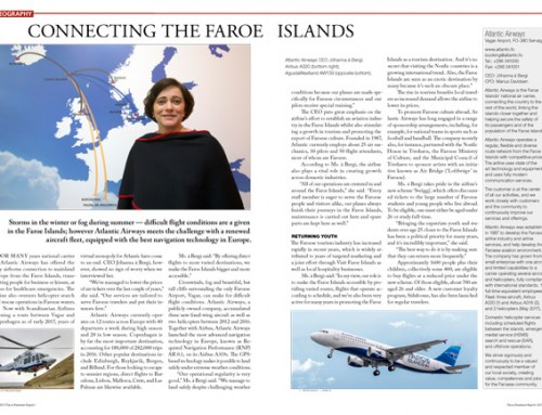 Connecting the Faroe Islands