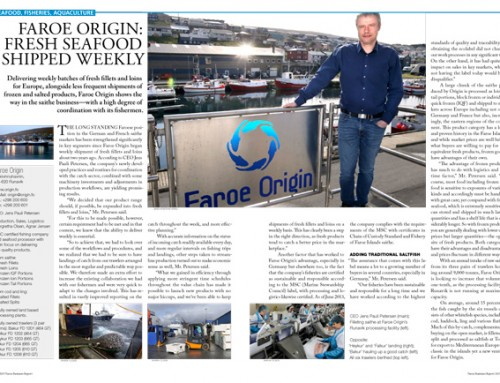 Faroe Origin: Fresh Seafood Shipped Weekly