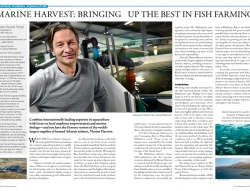 Marine Harvest: Bringing Up the Best in Fish Farming