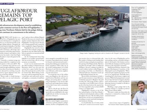 Fuglafjørður Remains Top Pelagic Port