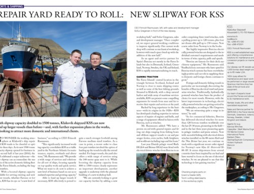 Repair Yard Ready to Roll: New Slipway for KSS