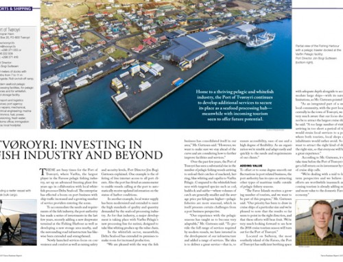 Tvøroyri: Investing in Fish Industry and Beyond