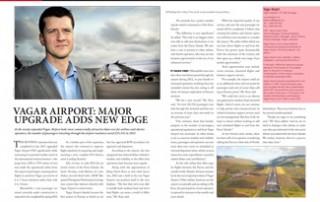 Vagar Airport: Major Upgrade Adds New Edge pp 20-21