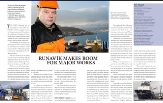 Runavík Makes Room for Major Works pp 62-63