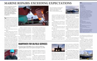 Marine Repairs: Exceeding Expectations pp 64-65