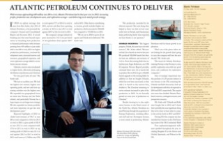 Atlantic Petroleum Continues to Deliver pp 74-75