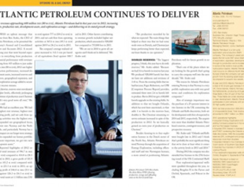 Atlantic Petroleum Continues to Deliver