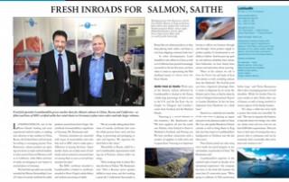 Fresh Inroads for Salmon, Saithe pp 44-45