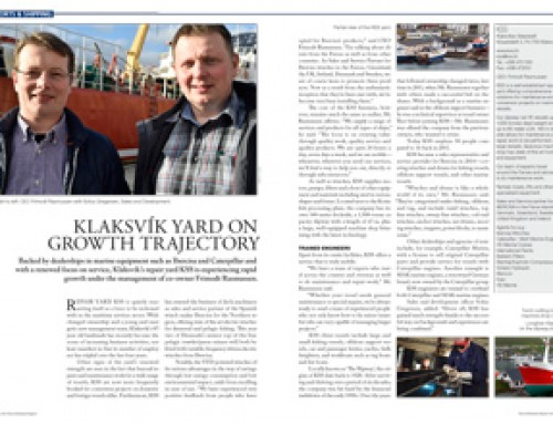Klaksvík Yard on Growth Trajectory