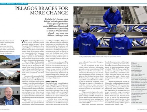 Pelagos Braces for More Change