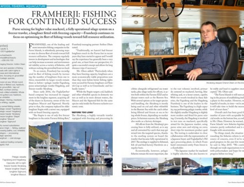 Framherji: Fishing for Continued Success