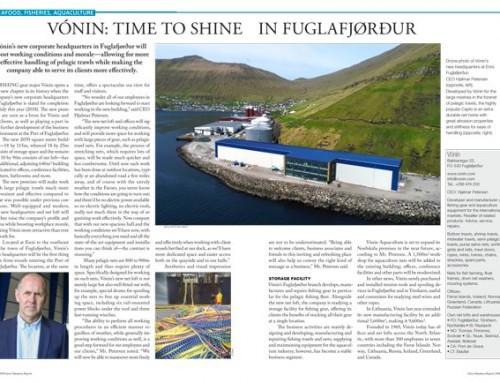 Vónin: Time to Shine in Fuglafjørður