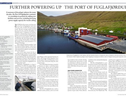 Further Powering Up the Port of Fuglafjørður