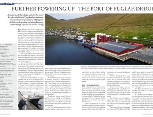 Further Powering Up the Port of Fuglafjørður