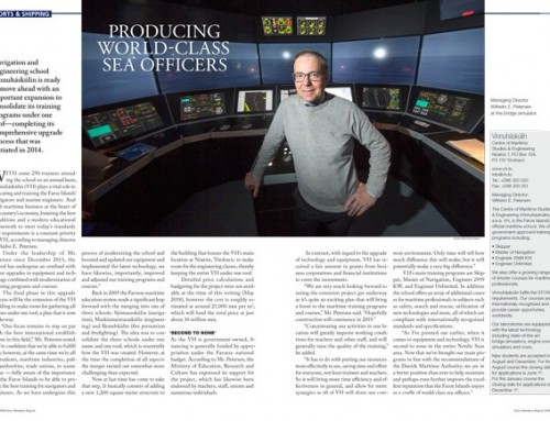 Producing World-class Sea Officers