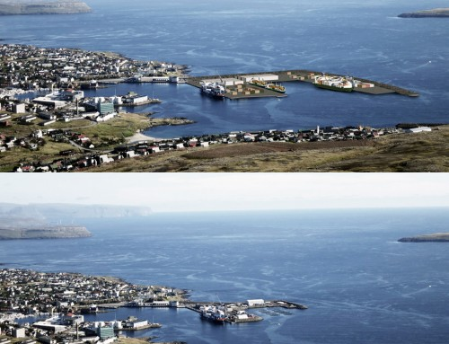 One-fifth to One-fourth of East Harbour Land Reclamation Completed